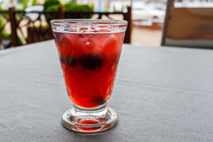Освежая питье пунша sangria плодоовощ Стоковое Изображение RF