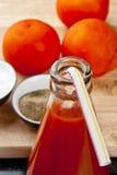 Освежая сок томата Стоковые Изображения
