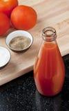 Освежая сок томата Стоковое Изображение