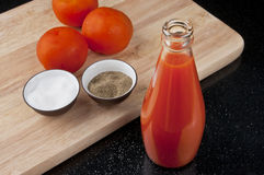 Освежая сок томата Стоковая Фотография RF