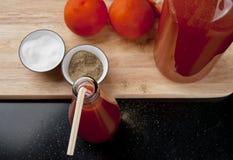 Освежая сок томата Стоковые Изображения RF