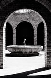 Освежая фонтан воды Стоковые Фотографии RF