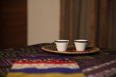 Освежая чай кровати Стоковая Фотография