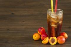 Освежая чай персика Стоковое Изображение RF