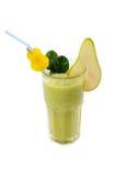 Освежая smoothie груши изолированный на белизне Стоковые Фотографии RF