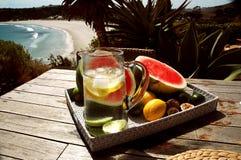 освежение залива гладит рукой Стоковое Изображение