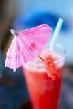 Освежение питья лета, встряхивание арбуза в стекле Стоковое Изображение RF