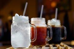 Освежение с тайскими напитками Стоковые Фото