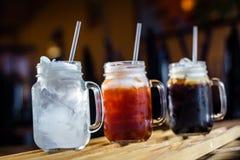 Освежение с тайскими напитками Стоковые Изображения RF