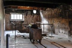 Освенцим i - крематорий i Birkenau Стоковое Фото