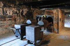 Освенцим i - крематорий i Birkenau Стоковое Изображение RF