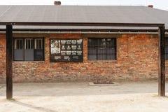 Освенцим i - кухня gallow Birkenau стоковое фото rf