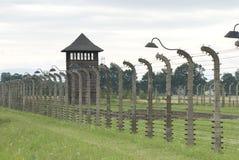 Освенцим II-Birkenau, бывший лагерь смерти Стоковое Изображение