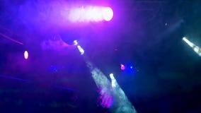 Осветительная установка для танцплощадки в ночном клубе r видеоматериал