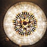 Осветите вверх взгляд выше Стоковое Изображение