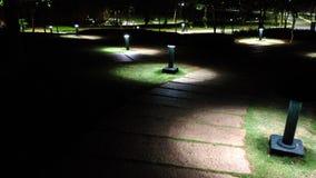 Осветите вверх путь Стоковая Фотография RF