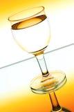 осветите вино контржурным светом стекел Стоковая Фотография RF