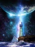 Осветите мир иллюстрация штока