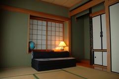 осветите tatami комнаты Стоковое Изображение