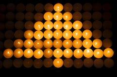 освещает вал Стоковые Фотографии RF