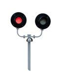 освещает железнодорожное движение Стоковое Изображение RF