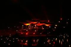 освещает загадочное Стоковая Фотография RF