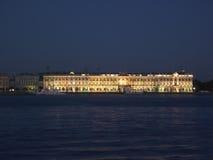 освещает зиму дворца Стоковое Изображение