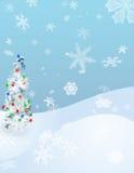 освещает зиму Стоковые Изображения RF