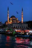 освещает мечеть Стоковое Изображение