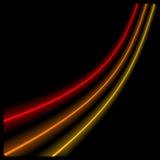 освещает неон Стоковые Фотографии RF