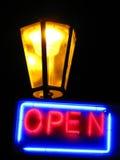 освещает ночу Стоковое фото RF