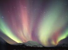 освещает северную Стоковое Фото