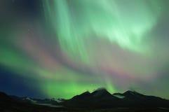 освещает северную Стоковые Изображения