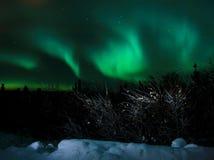 освещает северную Стоковое фото RF