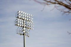освещает стадион Стоковое Фото