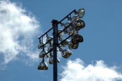 освещает стадион Стоковые Изображения RF