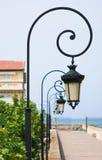 освещает улицу стоковая фотография rf