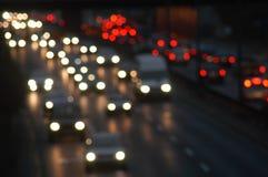 освещает улицу Стоковые Изображения