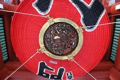 Освещать висок Asakusa гиганта Стоковое Изображение