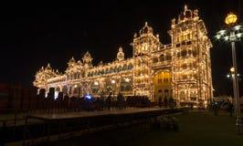 Освещать на дворце Майсура Стоковая Фотография RF