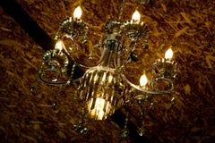 освещать на ноче стоковое изображение