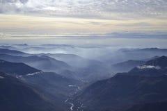 Освещать долину Стоковая Фотография RF