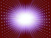 Освещать перекрытие с звездой Стоковая Фотография RF