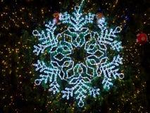 Освещать снежинок Стоковая Фотография RF