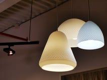 Освещать формы и дизайн объектов различные стоковые изображения rf