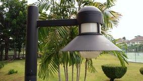 Освещающ в саде, светлые сферы в парке, освещая имеют t Стоковое Фото