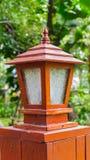 Освещающ в саде, Таиланд Стоковое Изображение RF