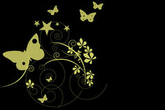 освещение бабочки Стоковые Изображения RF