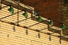 Освещение внешней витрины магазина Стоковое Фото