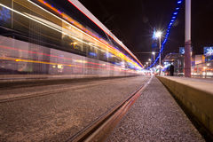 Освещения Блэкпул Стоковая Фотография RF